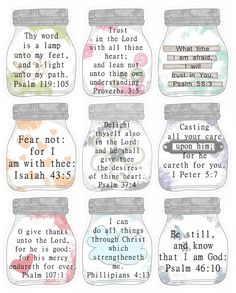 Shoregirl's Creations: Scripture Printables