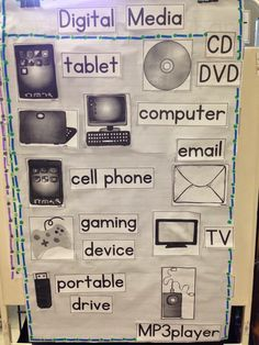 Digital Media Literacy for pre school students
