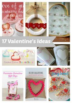 17 DIY Valentines Ideas -love these! Valentines Day Party, Valentine Day Crafts, Valentine Decorations, Holiday Crafts, Holiday Fun, Valentine Desserts, Valentine Ideas, Saint Valentine, Be My Valentine