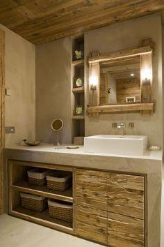 Bathroom Decor on a budget 11 DIY Badezimmer Umbau - bathroomdecor Small Bathroom With Shower, Narrow Bathroom, Bathroom Design Small, Simple Bathroom, Bathroom Ideas, Concrete Bathroom, Bathroom Black, Bathroom Designs, Bathroom Pictures