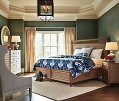 Queen Nevis Woven Bed, Stanley, Archipelago - Cabo Guest Room!  Note rug placement.