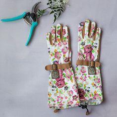 Floral Twill Garden Gloves in Garden Garden Gear at Terrain
