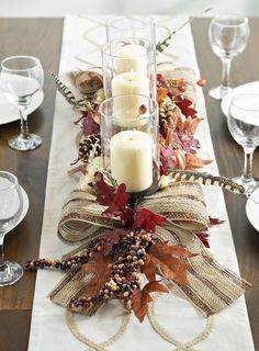 Your guests will adore this rustic centerpiece.