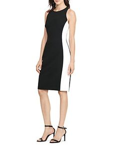 Lauren Ralph Lauren Side-Stripe Dress | Bloomingdale's