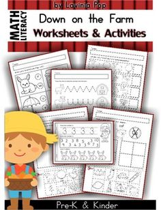 Viewing 1 - 20 of 51293 results for mega math amp literacy worksheets amp activities down on the farm unit Literacy Worksheets, Math Literacy, Homeschool Math, Homeschooling, Numeracy, Curriculum, Farm Activities, Educational Activities, Mega Math