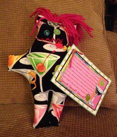 Martini Dammit Doll - Laurie's DDoLLs