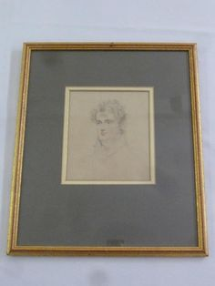 Bushey Auctions : Joseph Slater (1780-1840) framed and glazed pencil : Online Auction Catalogue