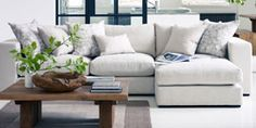 Raft Sofa Configurator - Raft Furniture, London An Article in the Indepenent says this is very comfortable!