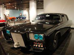"""""""The Green Hornet"""" 1966 Chrysler Imperial Black Beauty"""
