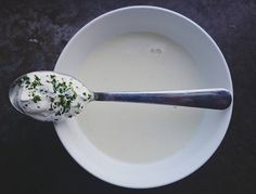Jordärtskockssoppa med parmesanröra