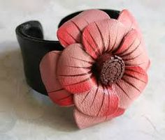 flores de cuero