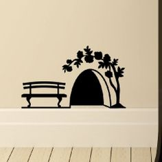 mouse hole silhouette - Google Search