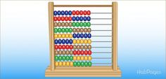 Want to teach your child some basic math concepts? Read on to find out how an abacus make learning math easy and fun for your child! Homeschool Kindergarten, Preschool Learning, Early Learning, Teaching Math, Kids Learning, Homeschooling, Preschool Ideas, Maths, Stem Activities