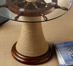 Awesome Ship Wheel Coffee Table   Bing Images