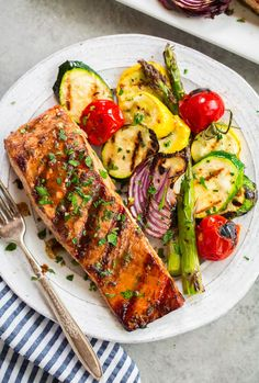 The Easiest Spicy Lime Grilled Salmon Life As A Strawberry. Grilled Salmon In Foil Packets With Green Beans . 25 Grilling Recipes Your Homebased Mom. Best Grilled Salmon Recipe, Marinated Salmon, Healthy Salmon Recipes, Fish Recipes, Seafood Recipes, Indian Recipes, Quick Recipes, Keto Recipes, Dinner Recipes
