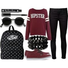 How to Wear Black Skinny Jeans - 19 Inspiring Polyvore Outfit Ideas