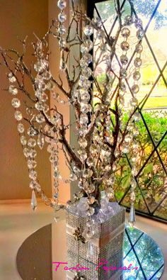 Sale Bling Manzanita Tree Centerpiece Silver by FashionProposals, $39.00