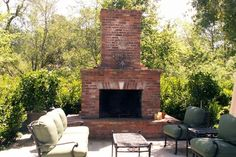 How to Make Outdoor Fireplace with Bricks How does one go about making an outdoor Also about a third of the cost of building a brick built fireplace. Description from patioheaterr.com. I searched for this on bing.com/images
