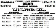 Lottery Sambad Today Result (indianalottopm) on Pinterest