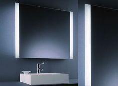 Beleuchteter Wandspiegel Via