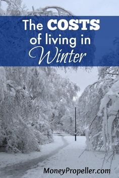 Living through different seasons includes some costs. Here are the costs of living in winter, in terms of clothing, as a start. http://moneypropeller.com/cost-living-winter-clothing/