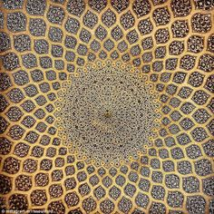 Construction of the Sheikh Lotfollah Mosque started in 1603 and was finished in 1619, with the purpose of being a private mosque of the royal court