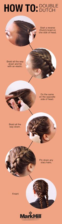 This double Dutch braid how-to is so quick you'll have time to stop and smell the roses!