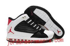 Acheter Chaussures Air Jordan Big Ups Noir/Varsity Red Rouge-Blanc |JordanAeroMania.com