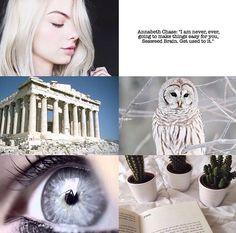 Annabeth Chase aesthetic from @lukepromised on Instagram.