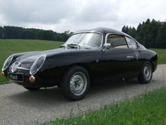Abarth 750 GT, what a beautyfull smal car!