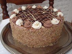 Sweet Recipes, Keto Recipes, Cooking Recipes, Torte Cake, Hungarian Recipes, Hungarian Food, Cakes And More, Keto Dinner, Relleno