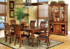 Cindy Crawford Home Key West Tobacco 5 Pc Rectangle Dining Room with Slat Chairs . $999.99.  Find affordable Dining Room Sets for your home that will complement the rest of your furniture.