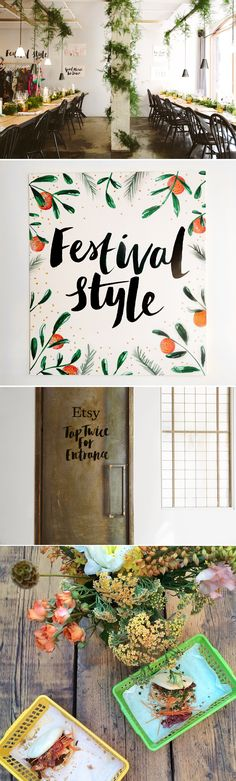 Etsy Supper Club | The Lovely Drawer