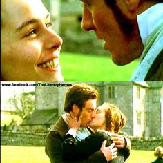 'My darling angel - my own Helen,' cried I, now passionately kissing the hand I still retained, and throwing my left arm around her, 'you never shall repent, if it depend on me alone.'  ~ The Tenant of Wildfell Hall, Anne Brontë  (www.facebook.com/TheLiteraryHeroes)