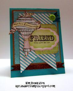 CTMH Skylark Card Created by Kim Richardson