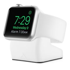 Made of premium-quality silicone, the Elevation Lab NightStand holds your Apple Watch for easy daily charging. Buy now at the Apple Online Store.