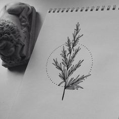 Obviously not a tree, but a good example of clean lines, realistic and balanced while being natural. Also a small geometric touch.