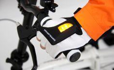 LED turning signal groves! DOPPELGANGER®[ドッペルギャンガー]自転車ブランド LEDグローブライト DA050GL DA051GL