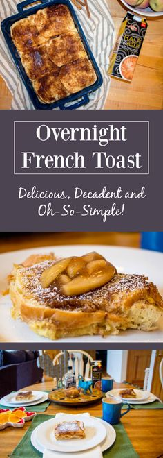 #AD Expecting holiday guests? Serve up this delicious and oh-so-simple Overnight French Toast with new Land O'Lakes Buttercream Style Half & Half for a decadent morning breakfast without any fuss!   #IndulgenceDoneRight #Breakfast #Holiday