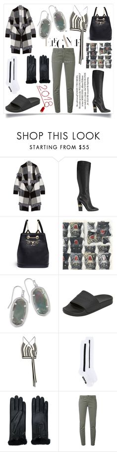 """Glow up your style"" by emmamegan-5678 ❤ liked on Polyvore featuring Burberry, Casadei, Charlotte Olympia, Gucci, Kendra Scott, rag & bone, Alice + Olivia, MSGM, AGNELLE and FAY"