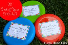 Easy End of Year Student Gift – FREE Printable!