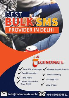 38 Best Bulk SMS Service Provider in India images in 2018