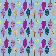 Waterworks Park blue fabric by keweenawchris on Spoonflower - custom fabric
