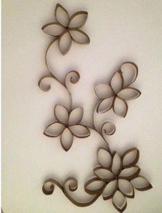 flores de tubito del papel del baño - Buscar con Google