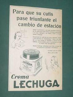 Publicidad Crema Facial.
