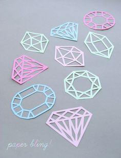 diamond pinata diy necklace diamanten kette basteln und. Black Bedroom Furniture Sets. Home Design Ideas