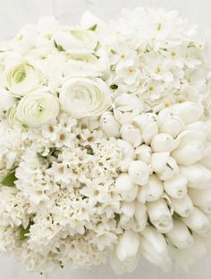 345 best color pop posies images on pinterest in 2018 beautiful all white flowers bridal bouquet white wedding tulips roses floral mightylinksfo