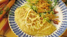 MatPrat - Omelett med råkost