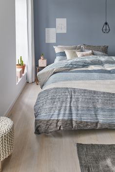 Most Beautiful Soft Blue Bedroom Ideas With Cozy Soothing Vibe - Bedroom decor - Bedroom Pastel Bedroom, Bedroom Colors, Elegant Home Decor, Elegant Homes, Home Decor Bedroom, Interior Design Living Room, Bedroom Ideas, Modern Bedroom Design, Contemporary Bedroom