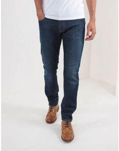 Armani Jeans Stonewash Slim Fit Jeans